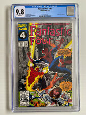 Fantastic Four #362 (1992) Spider-Man Appearance CGC 9.8