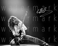 """Eddie Van Halen signed 8""""X10"""" inch print photo poster picture art autograph RP"""