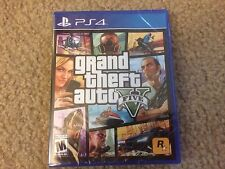 BRAND NEW Grand Theft Auto V 5 PS 4  PlayStation 4 PS4 GTA5 GTAV SEALED AND NEW!