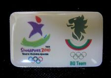 Singapore 2010 rare BULGARIA YOG Olympic NOC team pin