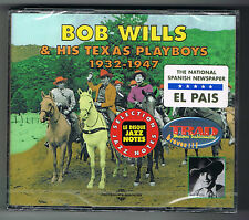 BOB WILLS & HIS TEXAS PLAYBOYS - 1932/1947 - 2 CD SET - NEUF NEW NEU