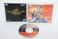 THE LEGEND OF XANADU Item Ref/ccc PC-Engine SCD Grafx Japan Game pe