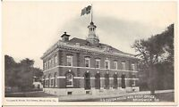 U.S. Custom House and Post Offiuce in Brunswick GA Postcard
