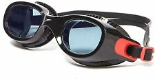 SPEEDO FUTURA CLASSIC SWIMMING GOGGLES BLACK ANTI-FOG TINTED LENS