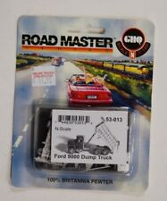 N Scale GHQ Pewter kit 53013 * Ford 9000 Dump Truck