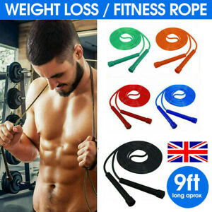 SKIPPING ROPE SPEED JUMPING BOXING CROSSFIT WEIGHT LOSS EXERCISE ADULT JUMP MMA