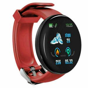 Waterproof Smart Watch Blood Pressure Heart Rate Monitor Sports Fitness Tracker