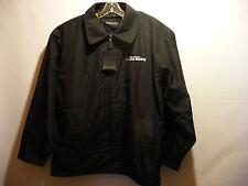 Microsoft Office Live Meeting Logo Dunbrooke Mens Metro Zip Jacket Black XL NEW