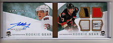 2012-13 UD Cup JAKOB SILFVERBERG AUTO QUAD PATCH STRAP LOGO TAG RC BOOKLET /25!!