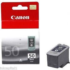 Canon PG-50, PG50 NERO H / C ORIGINAL OEM CARTUCCIA INKJET PER MP150, MP450