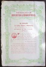 The Naresh Lahore 1932 special Willingdon issue spits venom on Gandhi & Congress