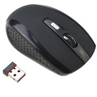 2.4GHz Wireless Optical Mouse W/ USB Receiver Adjustable DPI for PC Laptop Table