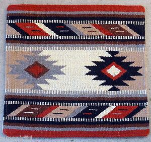 Wool Pillow Cover HIMAYPC-49 Hand Woven Southwest Southwestern 18X18