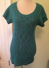Old Navy Women's XS Long Tunic Cable Knit Sweater Perfect for Leggings/Skinnies