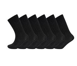 12 Pairs Of Men's Merino Wool Socks Thermal Walking Hiking Work Boot Sock 6-11