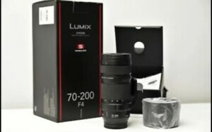Panasonic Lumix S Pro 70-200mm F4 O.I.S.in Mint condition