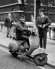 """Gene Vincent Vespa Scooters Mods 10"""" x 8"""" Photograph"""