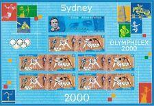 Bloc Feuillet BF31A - Jeux olympiques de Sydney - Australie - 2000