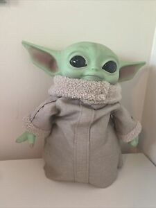 Baby Yoda Plush The Child Mandalorian Star Wars 11 inch Mattel Official Disney