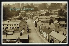 c.1910 Birdseye View Aerial View Wymeswold Leicestershire Postcard C844