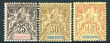 INDO-CHINA-1892-96 25c, 30c & 40c Values Sg 13-15 25c MOUNTED MINT V17231