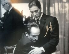 RARE REAL! AL PACINO SIGNED THE GODFATHER  11X14 PHOTO W/ PROOF W/COA SCARFACE