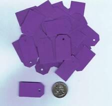 100 Blank Purple Merchandise Price Tags Small