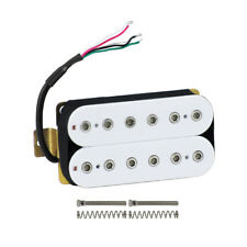 New White Humbucker Guitar Bridge Pickup Double Coil Pickup for Electric Gutiar