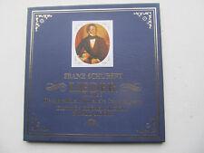 """Franz Schubert Lieder Vol 3 4*12"""" Box Set Fischer-Dieskau DG 2720 059 Germany 72"""