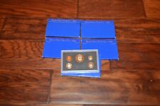 Lot of 5 1983-S United States Mint Annual 5 Coin Proof Set with Original Box
