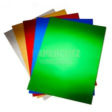 A6 Mirror Card Colours Job Lot Pack 100 Sheets
