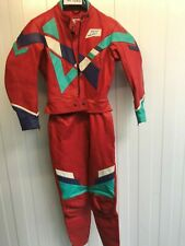 MJK LEATHERS Vintage Leather Motorbike Jacket & Trousers Set Size 40 (mc1040)