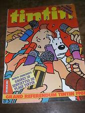 Tintin Hebdomadaire N° 298 1981 Alix Les comédiens Saucisson Smith Chick Bill