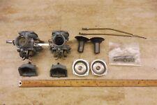 1972 Honda CB350 CB 350 H444-1> carburetors carbs set pair #1