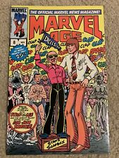 MARVEL AGE #8 11 13 29 36 42~~~~~Stan Lee Wolverine Daredevil Dreadstar