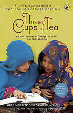 Three Cups Of Tea (Young Readers Edition) (Turtleback School & Library Binding E