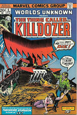 Worlds Unknown Comic Book #6, Marvel Comics 1974 NEAR MINT
