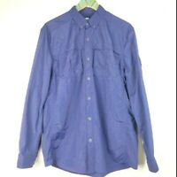 Ocean & Coast Men's Long Sleeve Blue Button-Down Shirt Sz M NWOT NICE!