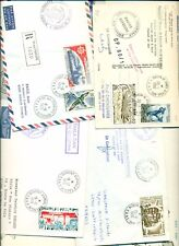 French Antarctic Territories 1950s-1980s 25 pieces of covers VF Catalog $600+