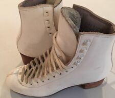 SP Teri Figure Skate Boots Made In USA Girls Size 4AAAA Boot Only