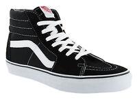 Vans Classic SK8 Hi Tops Black White Mens Skateboard Tennis Shoes VN000D5IB8C