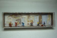 Vintage Mahale Figurines Box - N Gauge - TRANSPORT WORKERS - Box 2240 (1.fig-47)