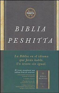 Biblia Peshitta, con Indice, Antiguos Manuscritos Arameos