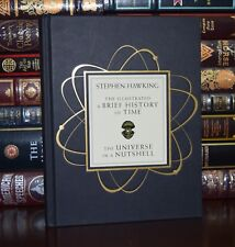 Illustrated Brief History of Time Universe by Stephen Hawking New Hardcover