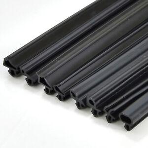 FENSTERDICHTUNG Gummiprofildichtung PVC EPDM schwarz Wärme-/Schalldämmung SPAREN