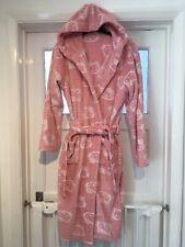 Girls Hooded Fleece Hello kitty Bath Robe  Dressing Gown M&S Age 13-14 Years