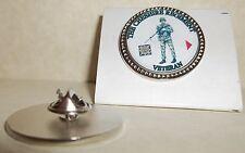 HM Armed Forces The Cheshire Regiment {SLR} Veteran Lapel pin badge.