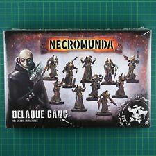 Delaque Gang Box (300-36) Necromunda Underhive Games Workshop #11859