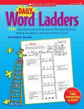 Daily Word Ladders: Grades 1–2: 150+ Reproducible Word Study Lessons That Help