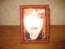 *NEW* Cadre porte-photo marqueterie photo 12x17cm extérieur 16x21cm